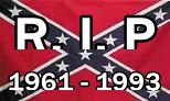 Confederate Battle Flag - RHS 1966 Banner