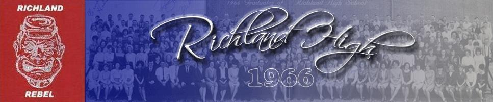 Richland Rebels - Class of 1966 - Richland High School - Fort Worth, Texas